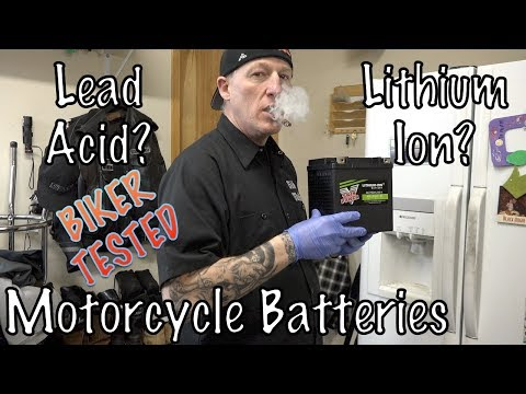 Motorcycle Lithium-Ion vs Lead-Acid Battery Comparison, Review, & Guide