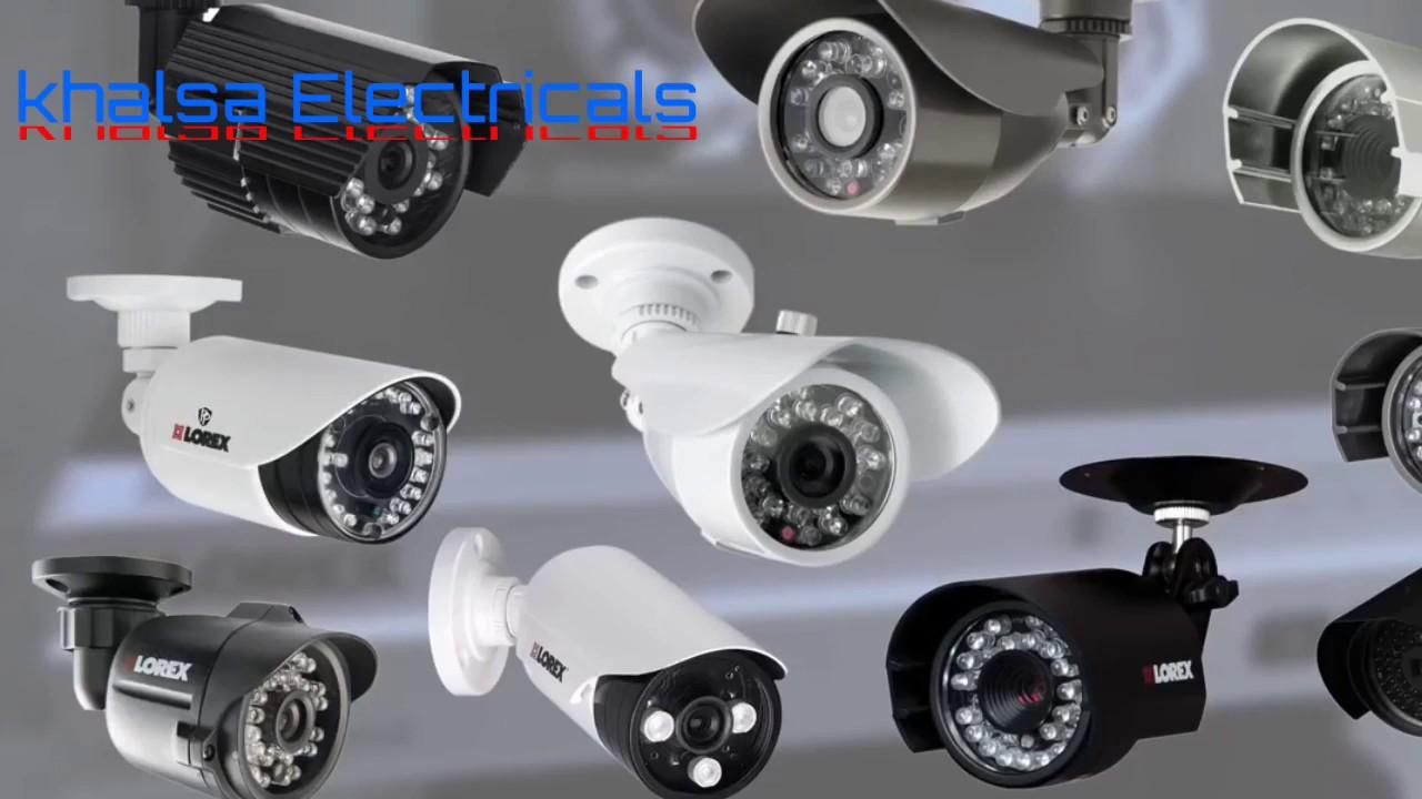 House Wiring Cctv Cameras Nvr System Rj45 Connector Camera Ki Kaise Karte Dvr