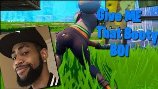 DAEQUAN GIVE ME THAT BOOTY COMPILATION (Funny Fortnite Compilation)