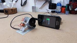 128ea2e2743 Gerador de Energia Infinita carregando um celular -Free Energy Charger for  Mobile Phone