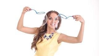 Как сделать раствор для мыльных пузырей и ракетки своими руками.