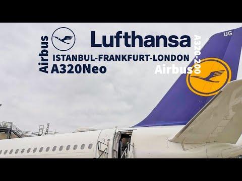 Lufthansa Airbus A320-200 / A320Neo | IST-FRA-LHR | Economy