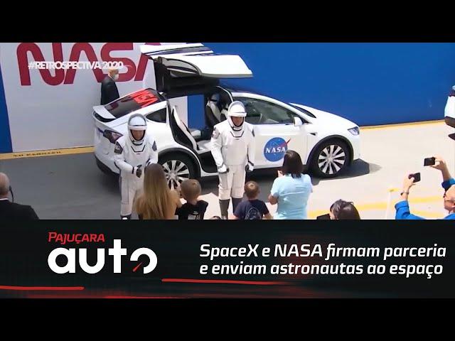 Retrospectiva 2020: SpaceX e NASA firmam parceria e enviam astronautas ao espaço