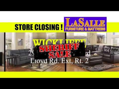 LaSalle Store Closing Sales