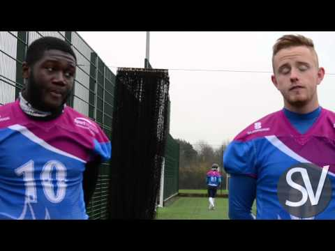 Coventry University Jets Vs De Montfort Falcons Pre Game & Post Match Interview - American Football
