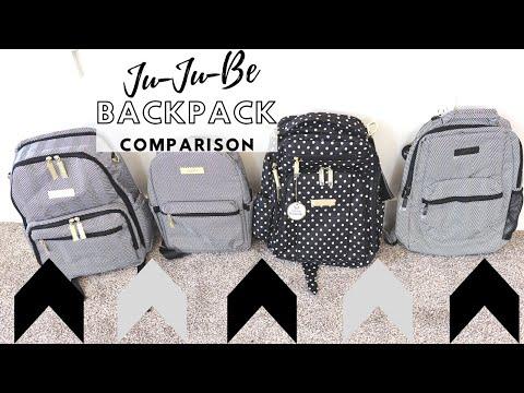 Ju-Ju-Be Backpack Comparison: