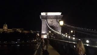 【街歩き】世界文化遺産ブダペスト、セーチェーニ鎖橋(ハンガリー)