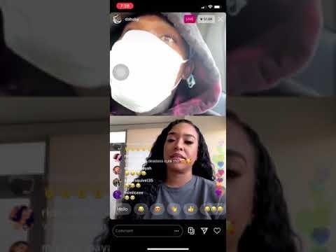 DaBaby on live with B Simone Calls her BAE