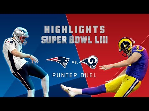 Punter Duel, Hekker vs. Allen! | Super Bowl LIII Player Highlights