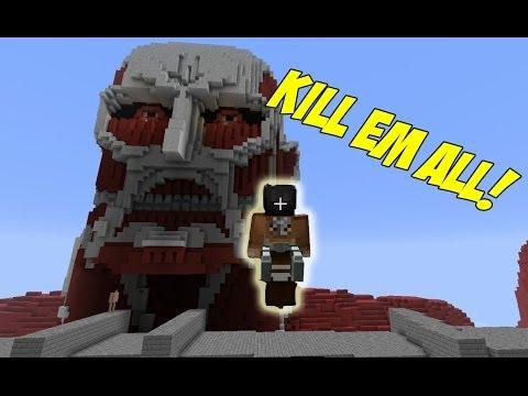 Attack on Titan Minecraft Mod
