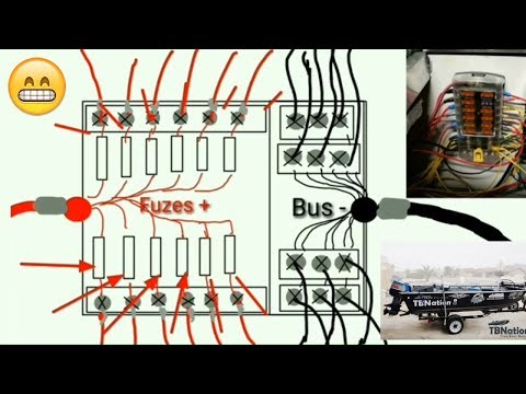super easy boat wiring and electrical diagrams step by Lowe Wiring Diagram