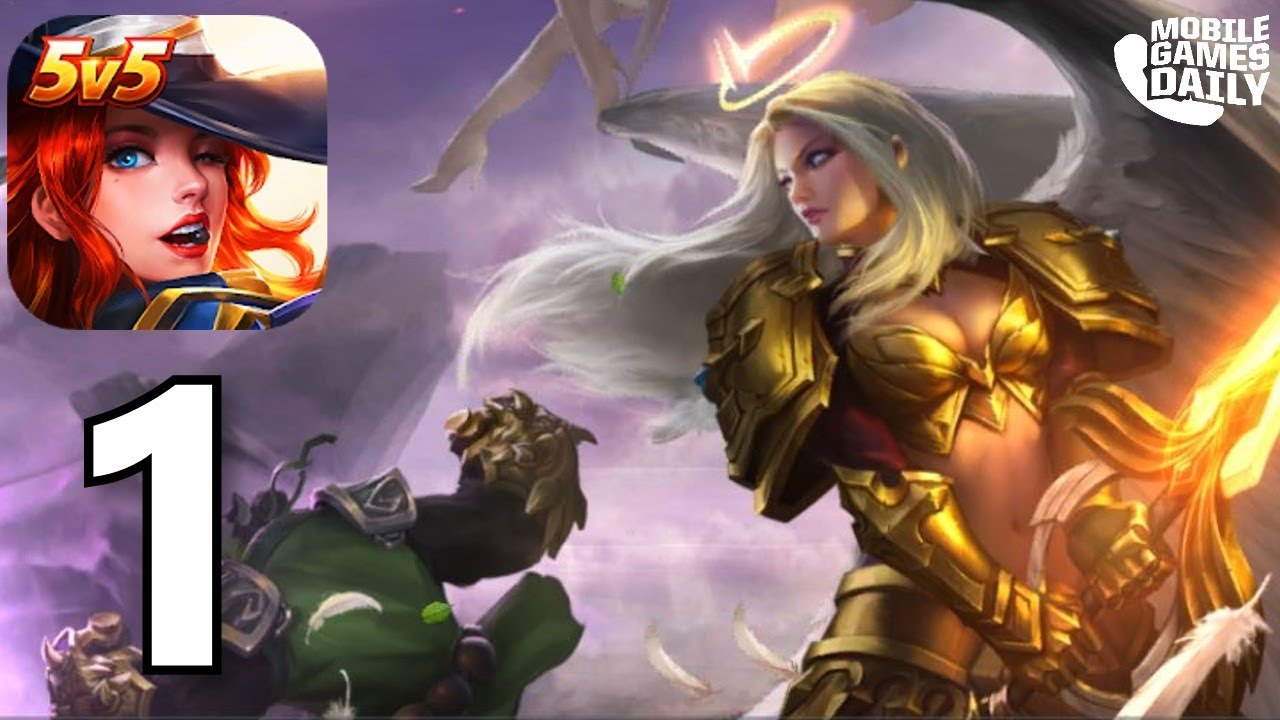 Legend Of Ace New Moba Gameplay Part 1 Ios Android