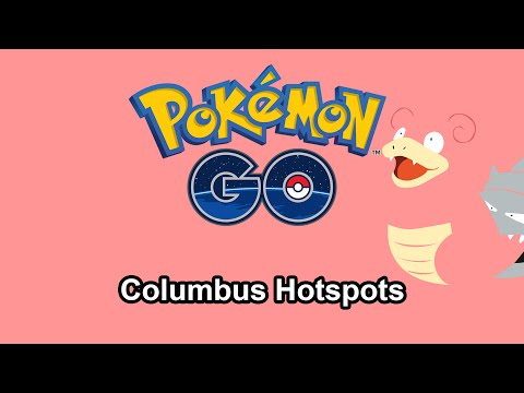 Pokemon Go - Columbus Hotspots Part 1