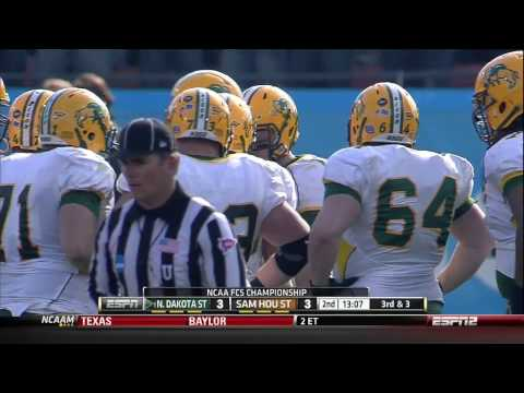 College Football   NCAA FCS Division I North Dakota State vs  Sam Houston State 01 05 2013