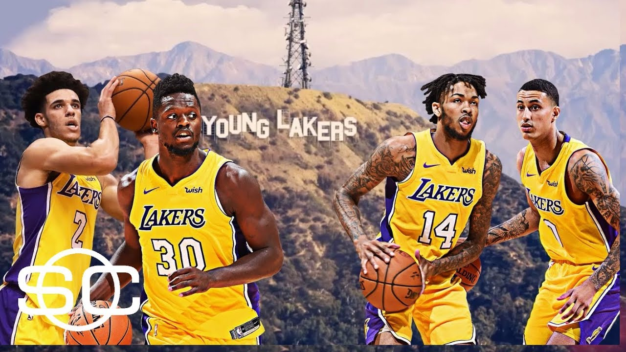 Image result for lakers young core