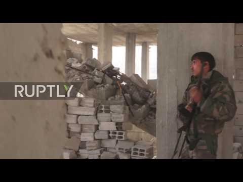 Syria: Syrian Army divides IS stronghold south of Damascus