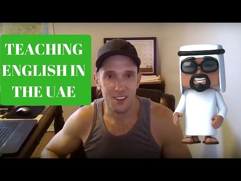 Teaching English in the UAE. ESL Teacher Jobs. Abu Dhabi, Dubai, Al Ain, Sharjah