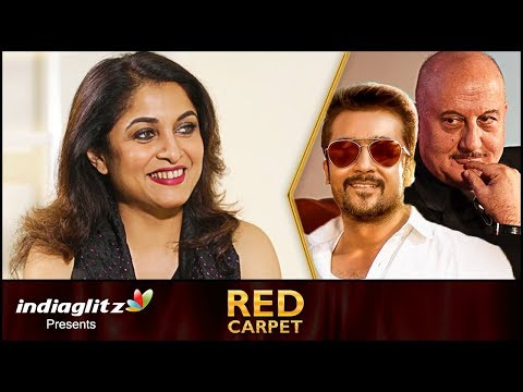 I Play the female version of a Legendary actor - Ramya Krishnan | Red Carpet Interview | TSK, Party