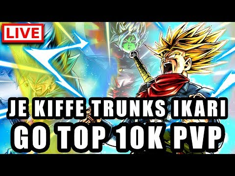 🔴 Go PVP TOP 10K DRAGON BALL LEGENDS avec TRUNKS IKARI