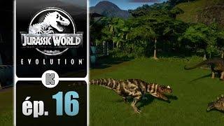 [FR] Jurassic World Evolution gameplay ép. 16 de la campagne (let's play complet)