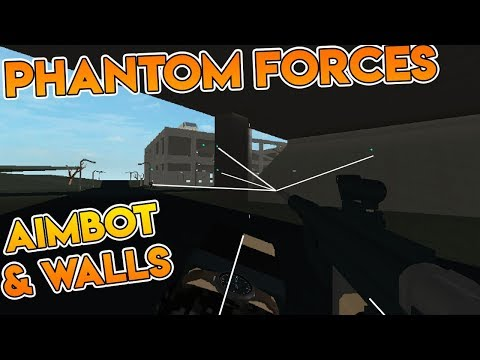AIMBOT AND NOCLIP IN PHANTOM FORCES HACK! (Phantom Forces Hacked Lobby)
