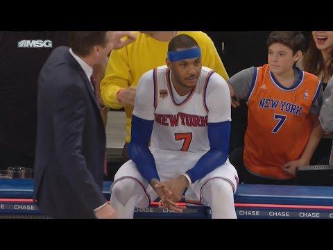 Devin Booker Game Winner! Tucker Taunts Carmelo! Suns vs Knicks 1-21-2017