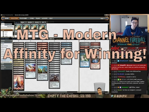 MTG  Modern  Affinity for Winning
