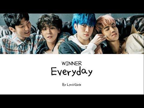 WINNER - Everyday [Hang, Rom