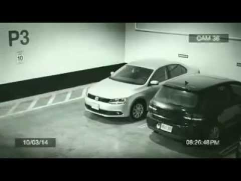 garer sa voiture dans un parking souterrain youtube. Black Bedroom Furniture Sets. Home Design Ideas