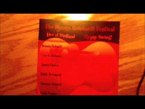 """The Django Reinhardt Festival Birdland 2002"" [[[full album]]]-featuring-James Carter"
