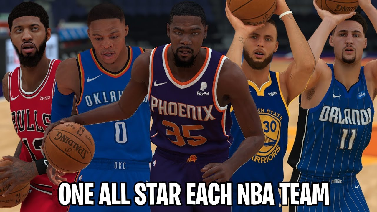 3696d185d5c What If Every NBA Team Only Had ONE All Star