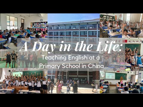 A Day In The Life: Teaching English at Primary School In China