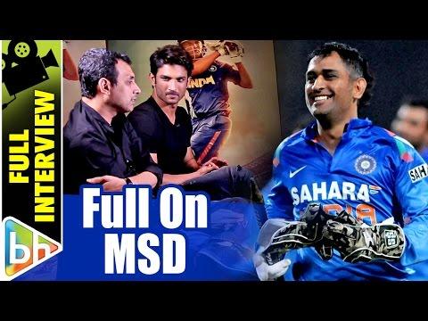 Sushant Singh Rajput | Neeraj Pandey | M.S.Dhoni - The Untold Story | SRK | Priyanka Chopra