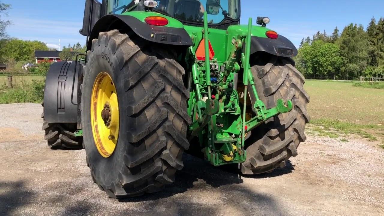 köp traktor john deere 7280r på klaravikse  youtube