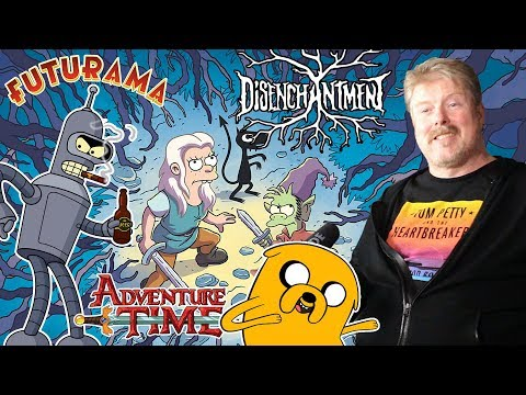 Funny John DiMaggio talks Futurama, Adventure Time & new series Disenchantment!