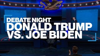 Trump vs. Biden: Key moments from the 2nd presidential debate