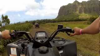 Travel Vlog Hawaii Day 6 Kualoa Ranch : Boating, Kayaking, ATV'ing