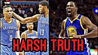 How Russell Westbrook is SAVING Kevin Durant's Legacy! (HARSH TRUTH) thumbnail
