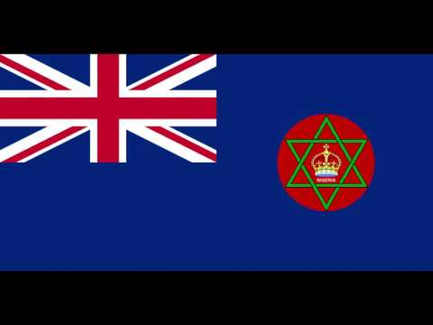 The anthem of the British Crown Colony of Nigeria