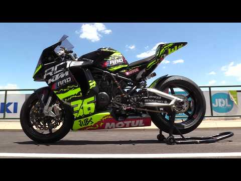 When is a KTM RC8 an RC12?