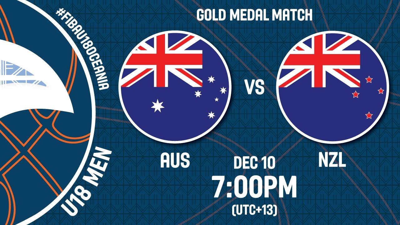 Australia v New Zealand - Live Stream - FIBA U18 Oceania Championship 2016