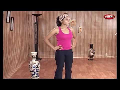 Movement of waist and stomach   Yoga for Obesity and Diabetes in Telugu   Meditation