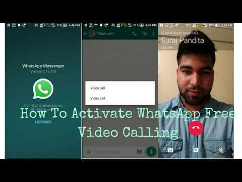 Whatsapp releases group calling for voice and video download.