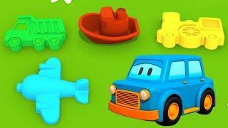 Мультики для самых маленьких: Умные МАШИНКИ! #Игрушки для песочницы. Мультики про #машинки