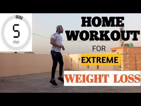 Lose Weight fast | Killer 5 mins Home workout