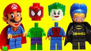 SUPERHERO Joker Prank Wrong Heads Magic Microwave Surprises thumbnail