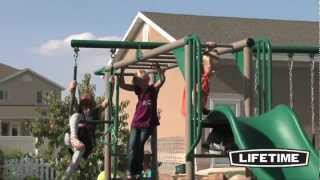 Lifetime Monkey Bar Adventure Swing Set - Epic Swingsets