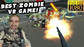 Zombie Training Simulator Gameplay - VR ZOMBIES! - Walkthrough PC 1080p