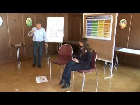Sabine und Jürgen im Seminar