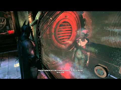 Batman: Arkham Knight - The Chinatown Penthouse: GCPD Ivy Dialogue (Isolation Chamber) PS4